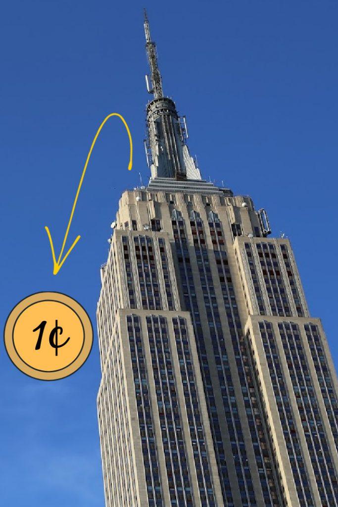 Cuando suelta un centavo del video del Empire State Building - Blog de actividades para niños