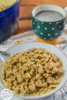 3 Ingredient One Pot Bacon Mac & Cheese