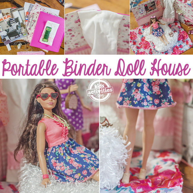 binder doll house SQUARE