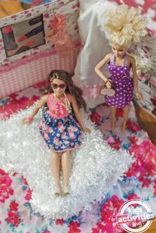 Portable Binder Doll House