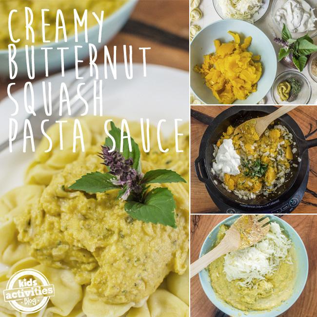 Creamy Butternut Squash Pasta Sauce