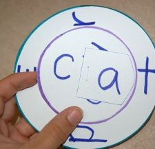 Consonant Vowel Consonant (CVC) Reading Wheel