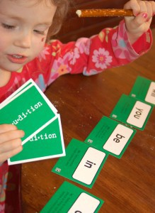 Using Word Cards to Learn to Read