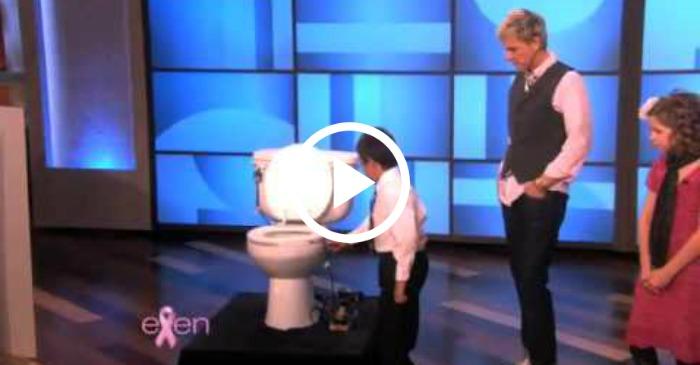 kid inventions on Ellen