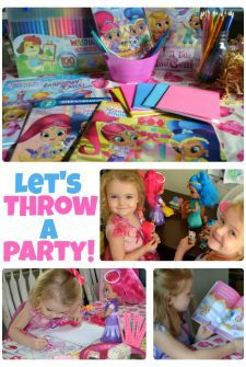 How to Throw a Simple Shimmer and Shine Party at Home