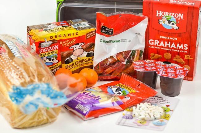 monster lunch supplies