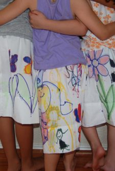 Pillowcase Skirts – a Slumber Party Activity