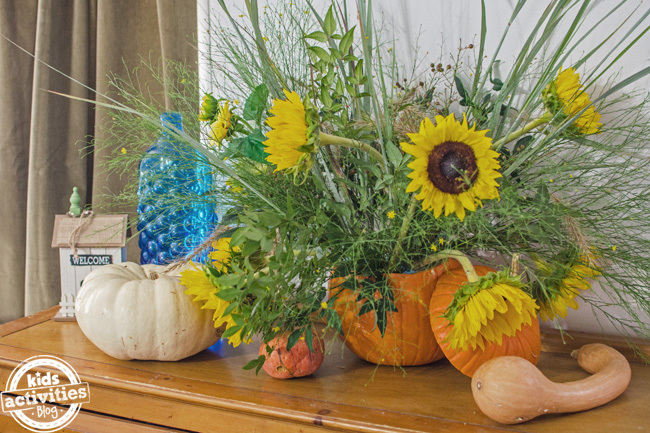 pumpkin vase 4