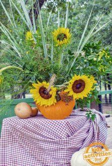Pumpkin Autumn Vase Craft