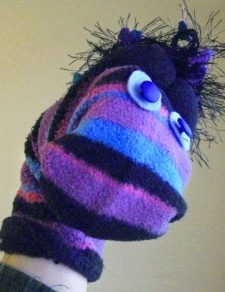 How to Make Your Own Silly Sock Puppet
