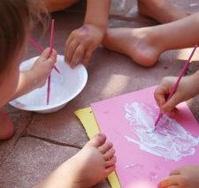 Scientific Method with Preschoolers and Sunscreen