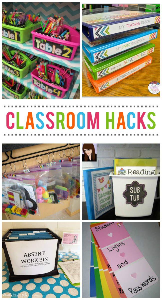 Classroom Organization Ideas High School ~ Classroom organization hacks every teacher should know