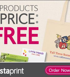 6 Free Products from Vistaprint!