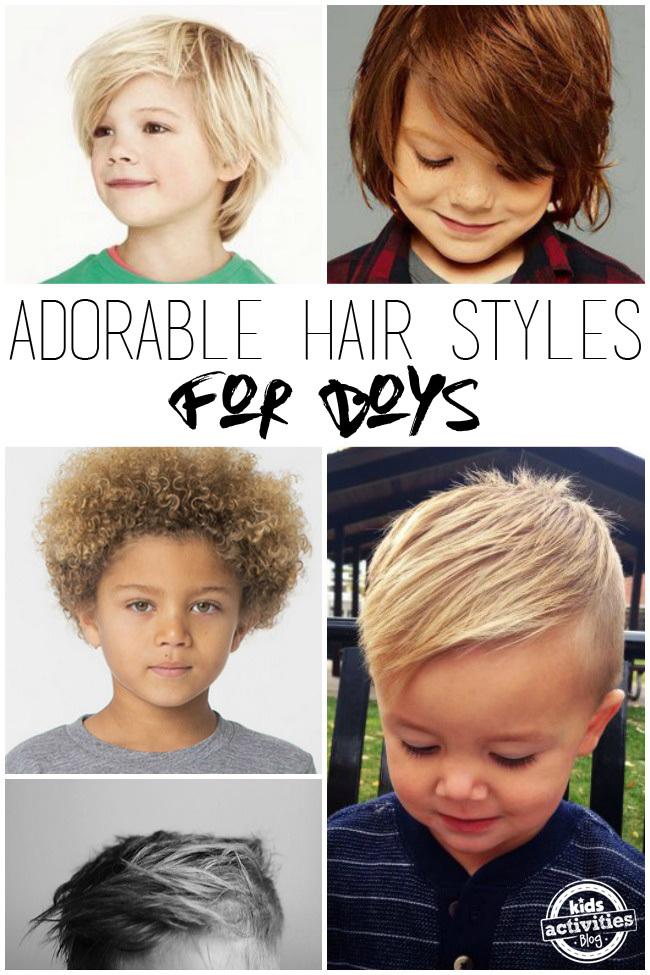 Adorable Hair Styles for Little Boys