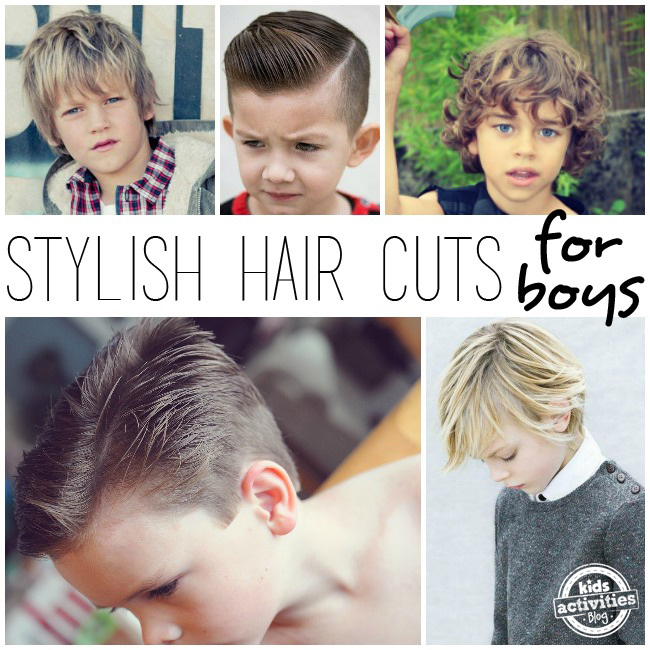 Stylish Hair Cuts for Little Boys