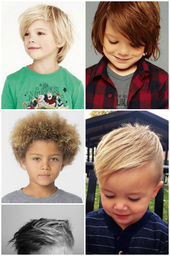 Adorable Hair Styles For Little Boys