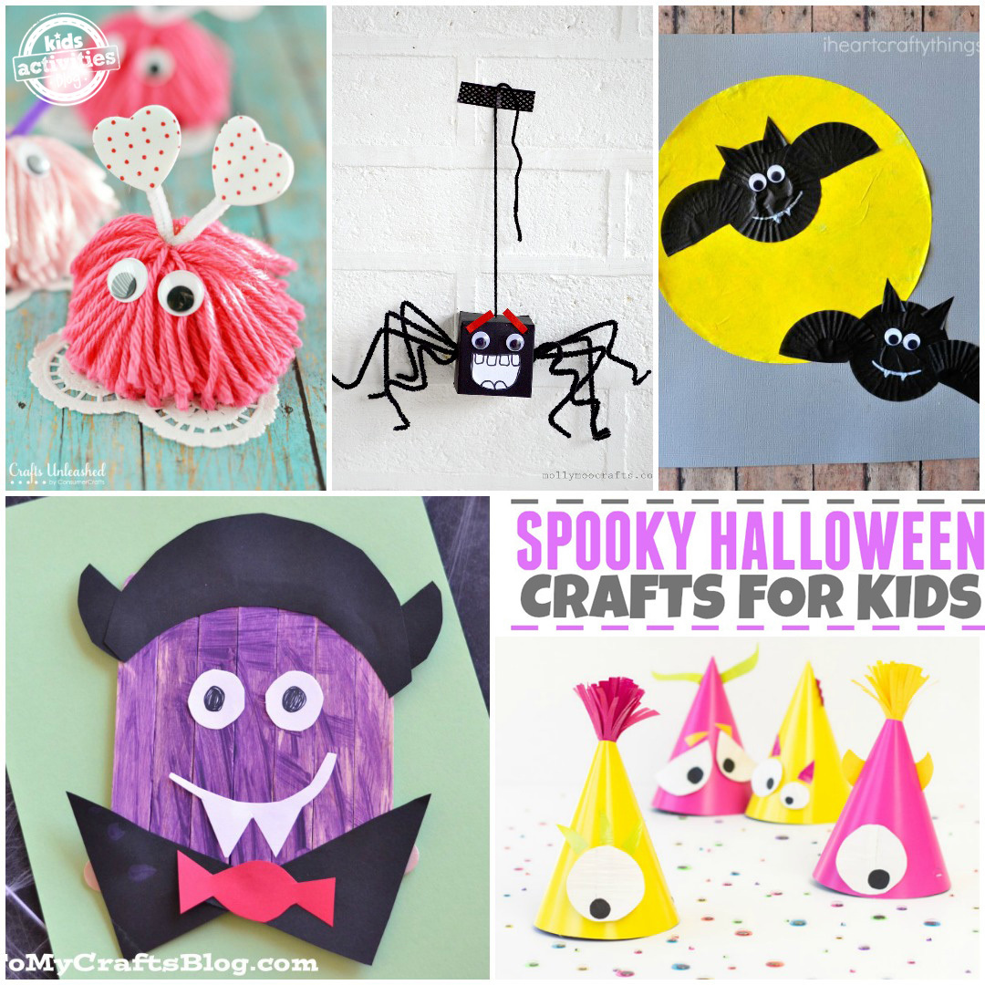Halloween Cutouts For Kids: 20 Halloween Crafts For Kids