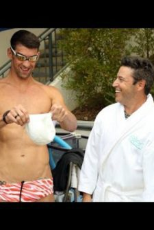 Ellen's Andy Is No Match For Michael Phelps!