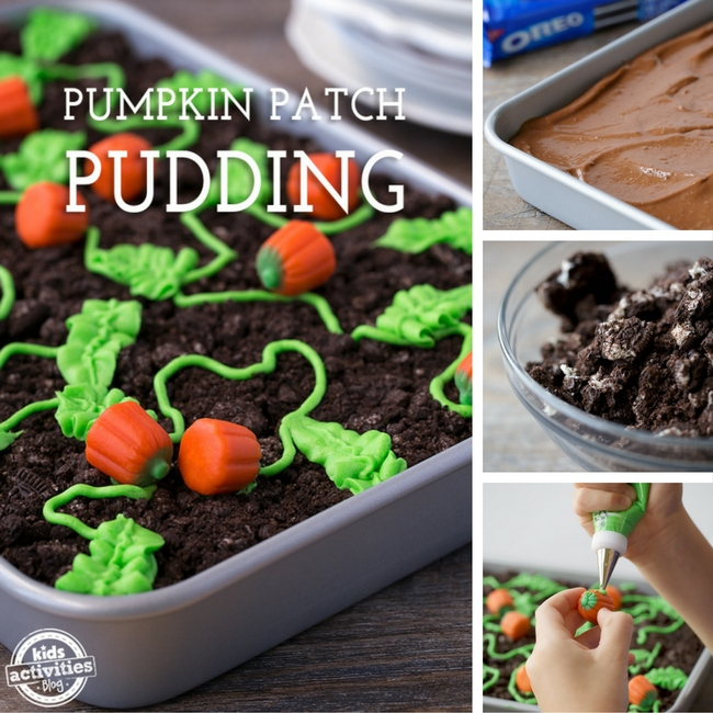 Pumpkin Patch Pudding Treat
