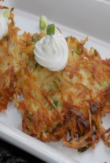 Apple Potato Latkes