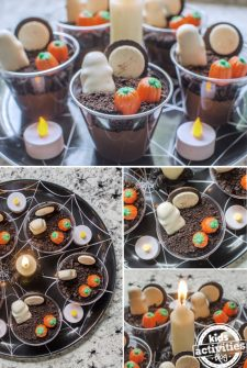 SPOOKY! Halloween Pudding Cups