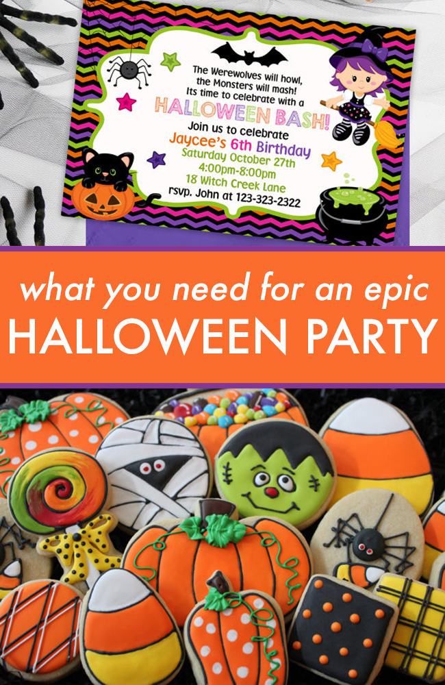 10 Things You Need For A Super Halloween Party