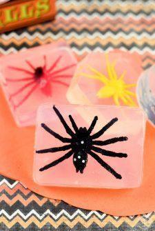 Homemade Creepy Bug Soap