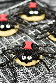 Homemade Spider Cookies