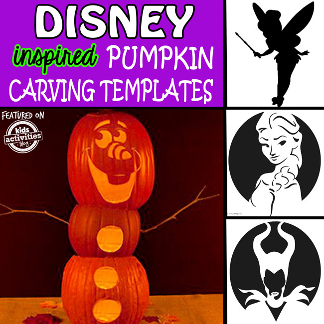 Disney Inspired Jack o Lantern Patterns for Halloween