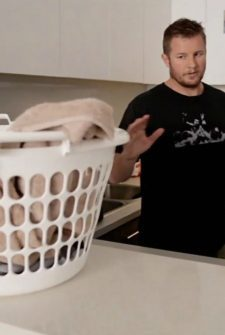 This Mysterious Basket Gets Clothes Magically Clean!