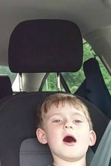 This Father And Son Sing Frank Sinatra In The Car…
