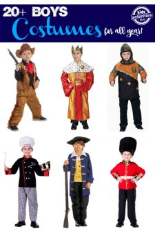20+ Boys Costumes For All Year!