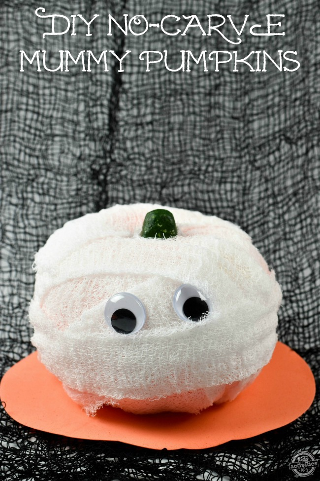 diy-no-carve-mummy-pumpkins
