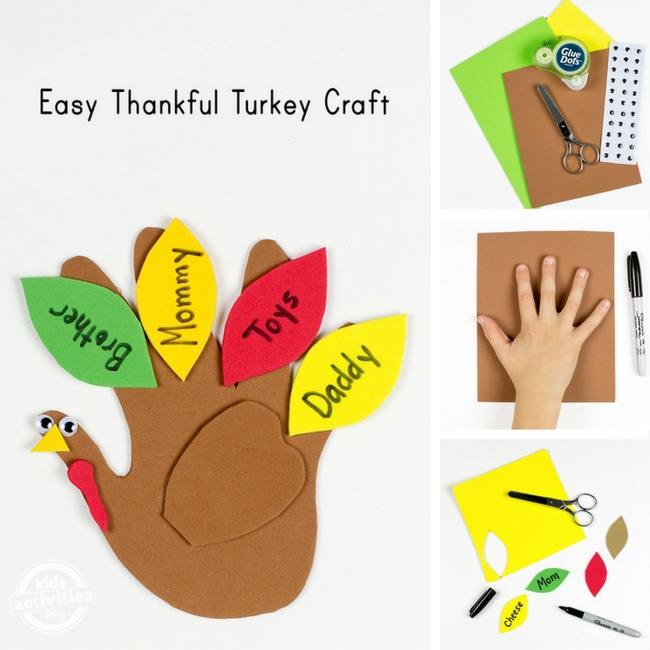 Easy Thankful Turkey