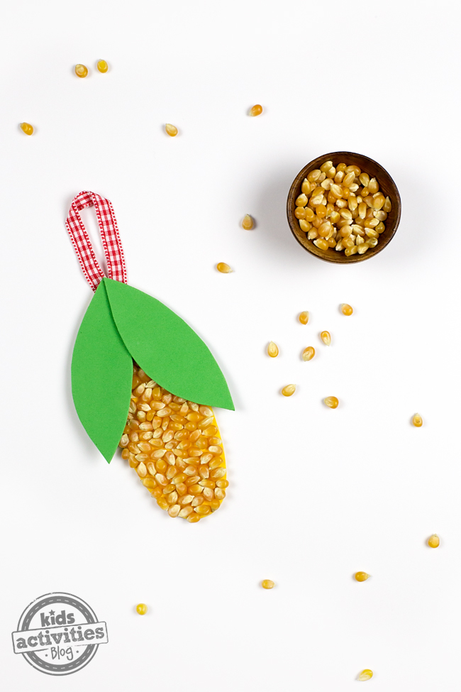 Easy Harvest Craft for Kids