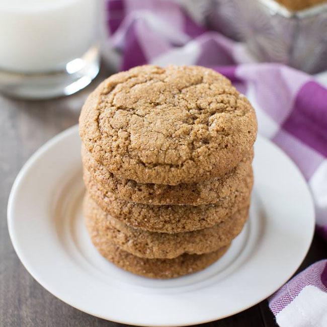 Pumpkin Molasses Cookies Recipe — Dishmaps
