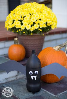 Soda Bottle Bats: A Fun Halloween Craft for Kids