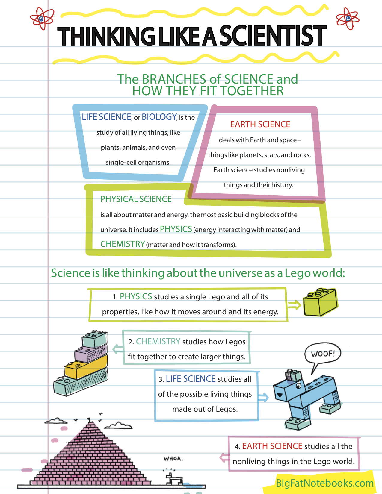 Thinking Like a Scientist Vocabulary Packet Freebie by Adventures ...