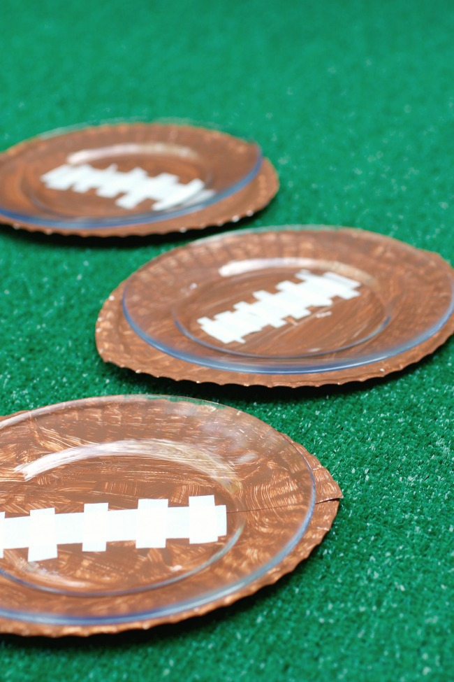 football plate craft for kids