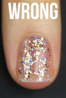 If Your Glitter Polish Is Spotty, You've Been Doing It Wrong!