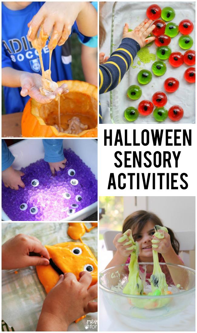 14 activités sensorielles amusantes pour Halloween