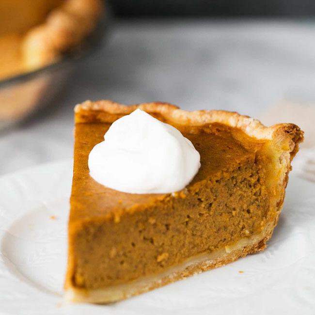 Old Fashioned Pumpkin Pie