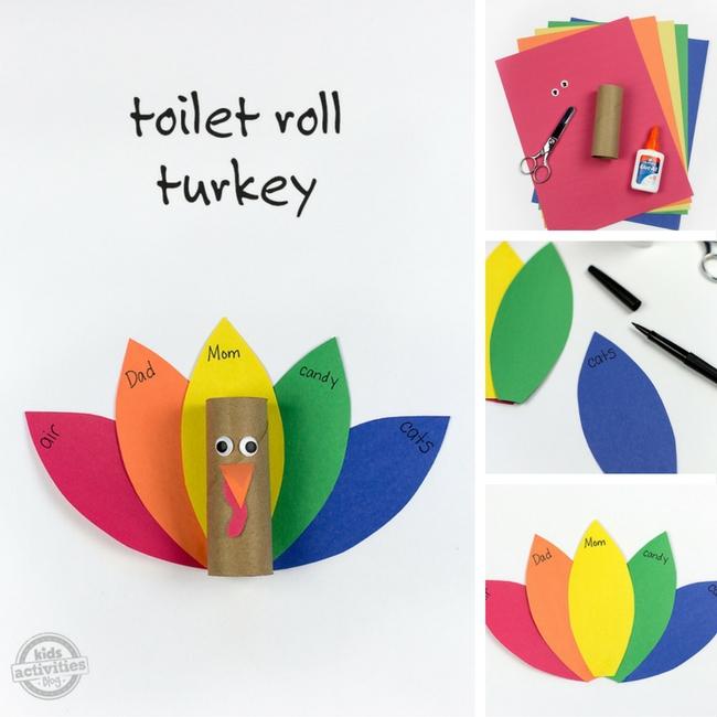 Toilet Roll Turkey