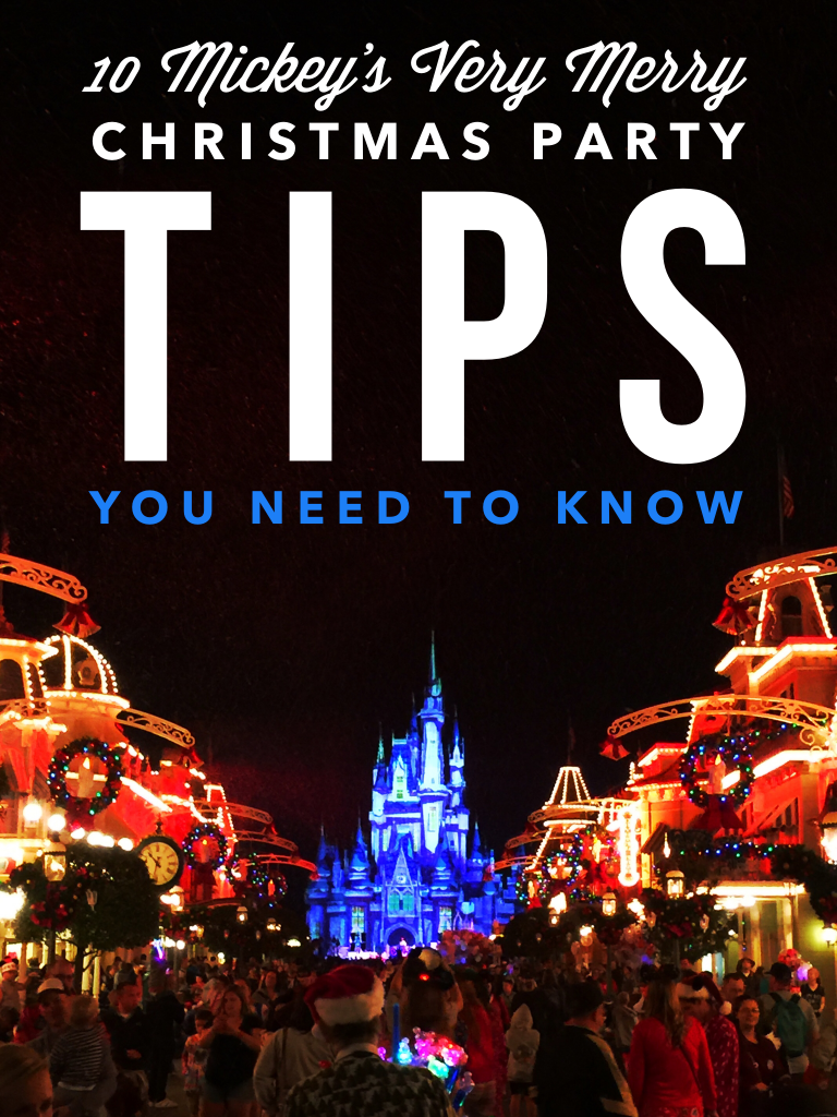 10 Mickey's Very Merry Christmas Party Tips You Need to Know
