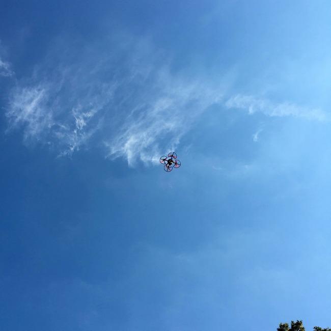 ghostdrone flying