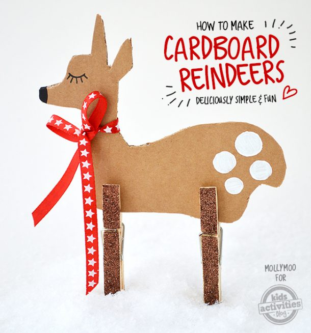 27 Adorable Reindeer Crafts To Make