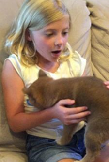 Tears As Little Girl Receives The Puppy She's Always Wanted For Her Birthday!