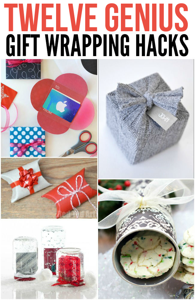 Genius Gift Wrapping Hacks