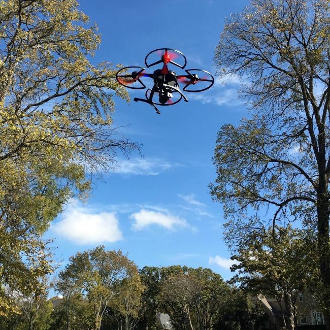 ghostdrone in flight