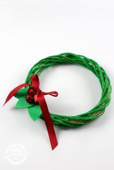 Kid-Made Christmas Wreath